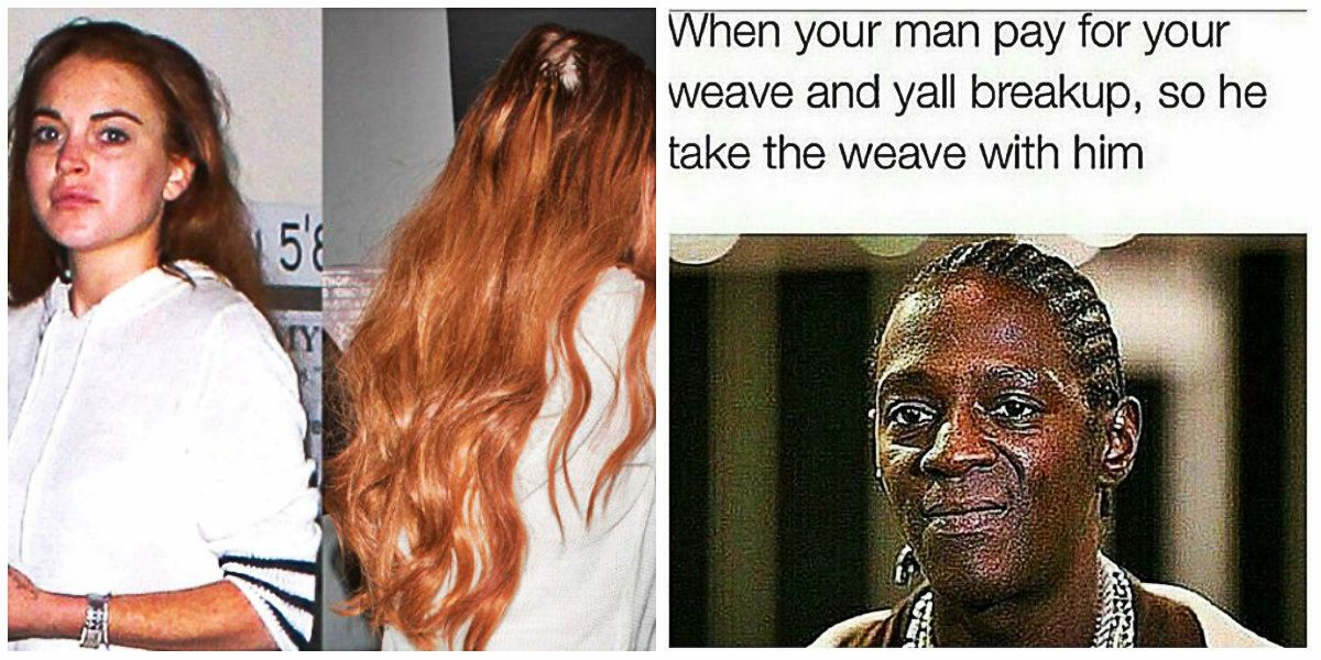 Celebs Captured With The Most Ratchet Weaves Thetalko