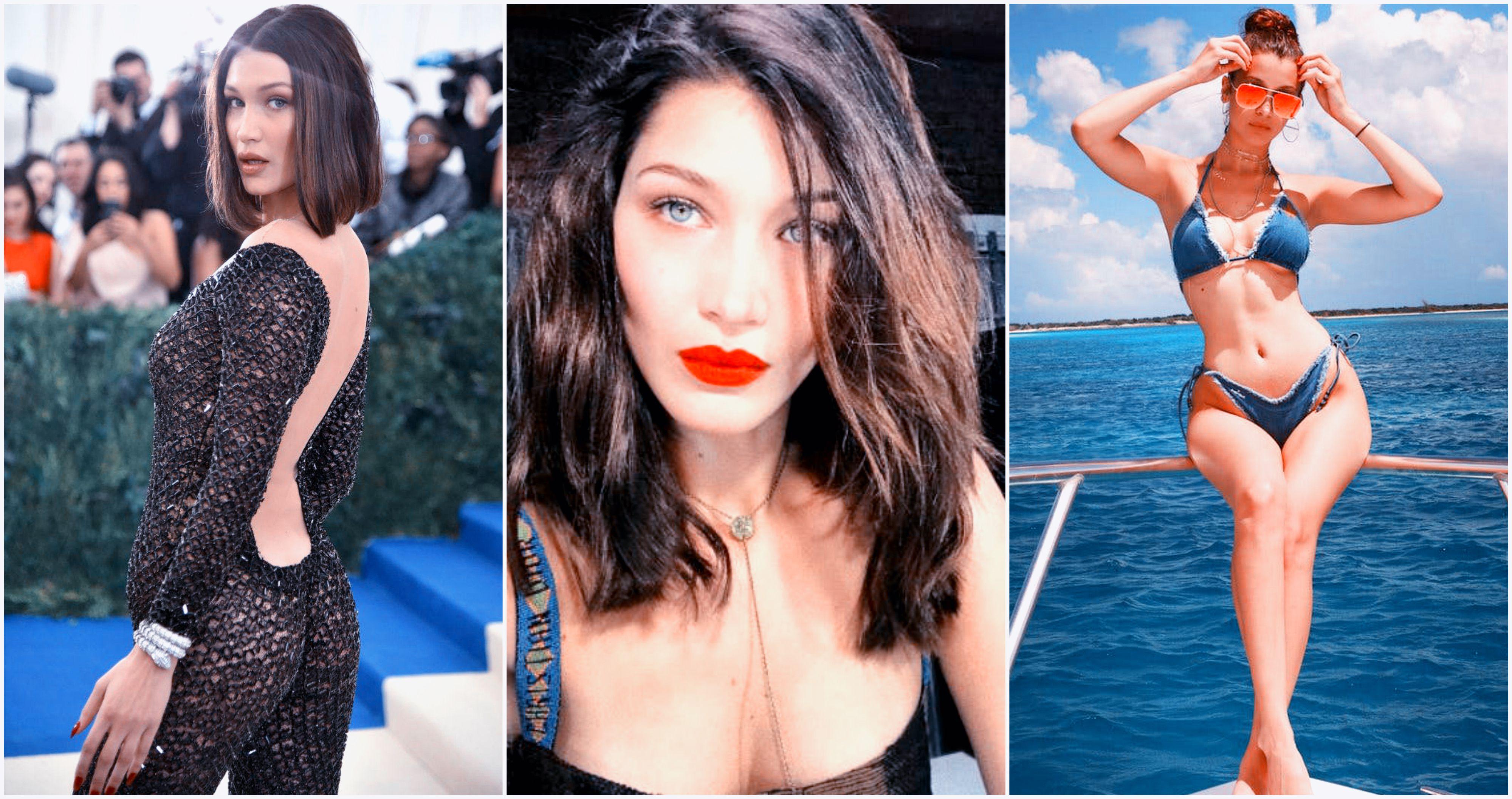 5bfb39983285 Pics That Prove Bella Hadid Is More Sizzling Than Gigi | TheTalko