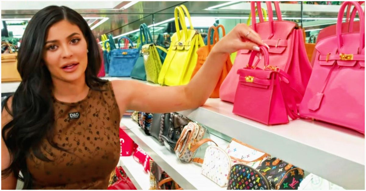 24539bcfce5 Kylie s Closet  25 Of Her Most Ridiculously Expensive Purses   Handbags